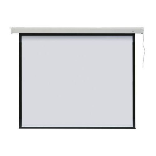 Ekran projekcyjny elektryczny PROFI 165x122 - ścienny / sufitowy, EEP1216/43