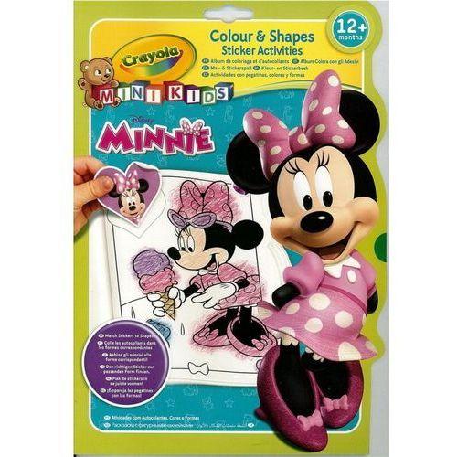 Kolorowanka kształty i kolory minnie - . marki Crayola
