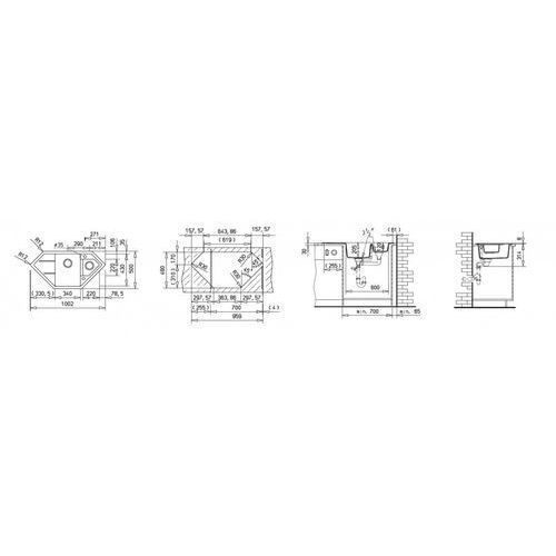 ASTRAL 70 E-TG ONYKS ZLEW (88937), 1_252698