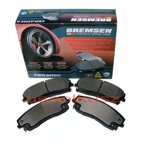 Bremsen Przednie ceramiczne klocki hamulcowe tarcze 320mm dodge charger