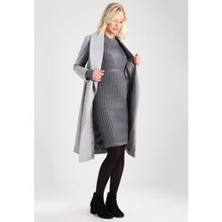 MAMALICIOUS MLJOYAN Sukienka dzianinowa medium grey melange