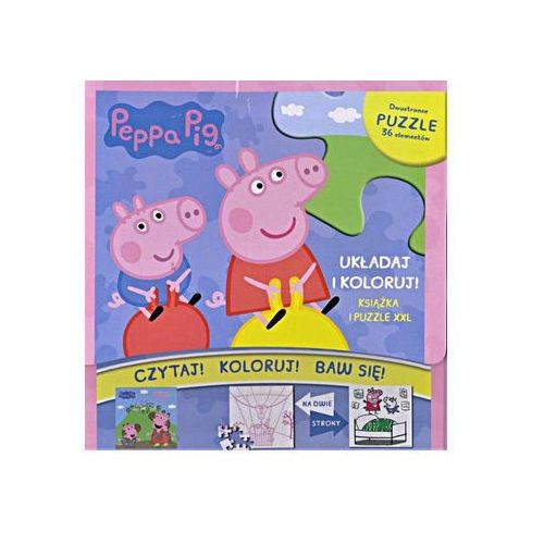 Świnka Peppa. Wesołe zabawy (książeczka + puzzle) (9788379945252)