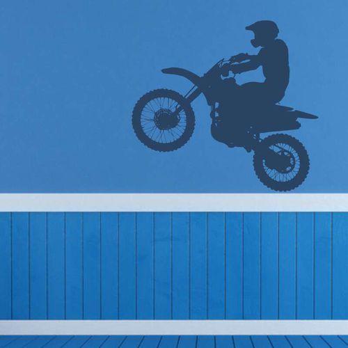 Wally - piękno dekoracji Motocross szablon do malowania 2312