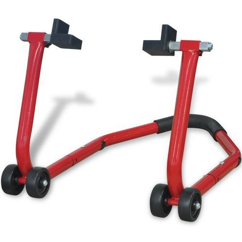 vidaXL Podnośnik stojak motocyklowy tylny czerwony