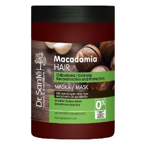 Dr.Sante Macadamia Hair Maska odbudowująca do włosów osłabionych 1000ml - Elfa Pharm OD 24,99zł DARMOWA DOSTAWA KIOSK RUCHU