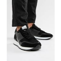 premium runner trainer - black, Selected homme