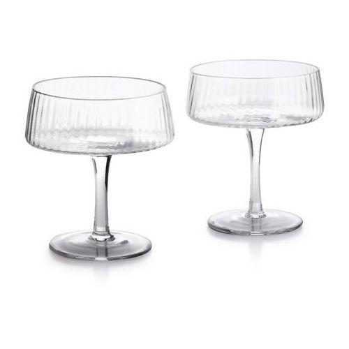 Mada clear kpl. 2 kieliszków do szampana 300ml 10x7.5xh12cm marki Sofa.pl