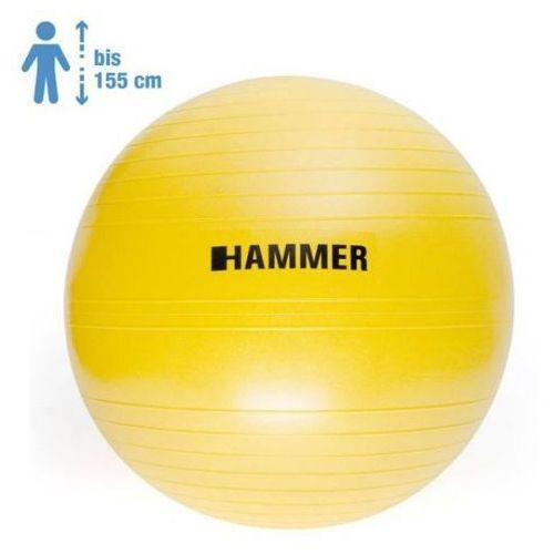 Hammer gymnastic ball 55 cm antiburst - 66406 - piłka fitness - 55