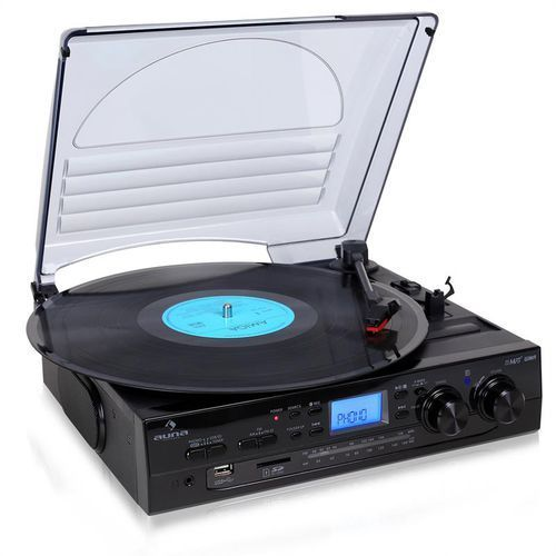 Zestaw stereo  tt-186e gramofon nagrywanie usb mp3 marki Auna