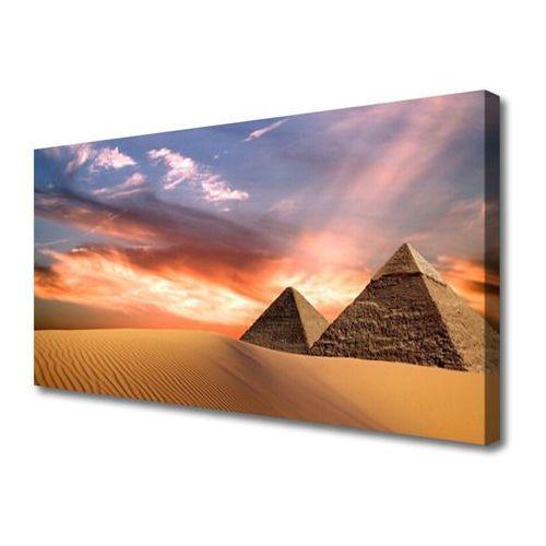 Obraz na płótnie pustynia piramidy na ścianę marki Tulup.pl