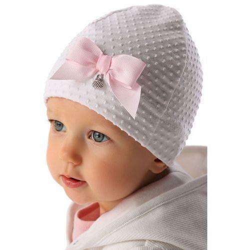 Marika Czapka niemowlęca biała 5x34a8