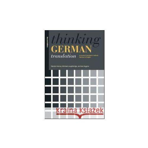 Thinking German Translation (9780415341462)