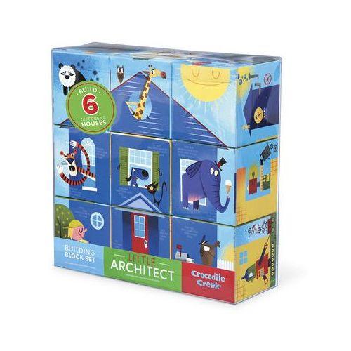 Klocki-układanki mały architekt - budynki