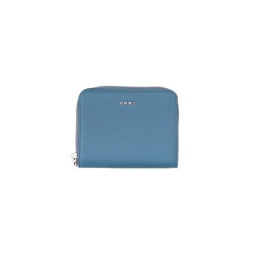 Dkny chelsea small portfel niebieski uni