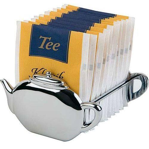 Pojemnik na herbatę w saszetkach | 85x85x50 mm marki Aps