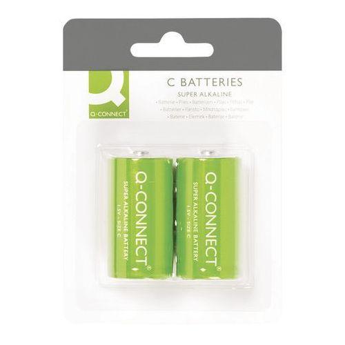 Q-CONNECT Baterie super-alkaliczne C, LR14, 1,5V, 2szt. Darmowy odbiór w 20 miastach! (5705831004900)