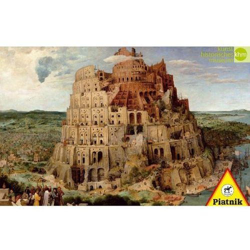 Puzzle 1000 - Brueghel. Wieża Babel PIATNIK (9001890563942)