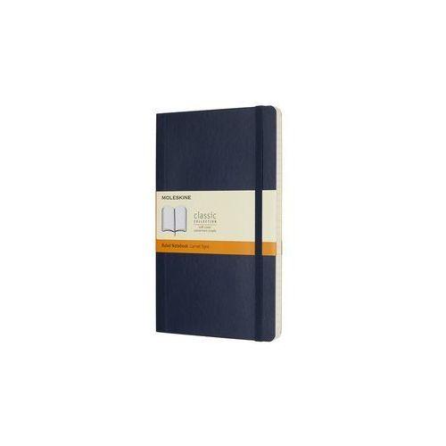 Notes Moleskiny L linie w miękkiej oprawie szafirowy 192 strony