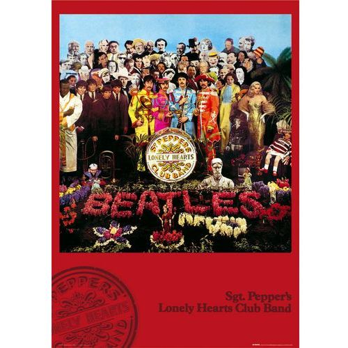 Gb The beatles sgt. peppers lonely hearts club band - plakat