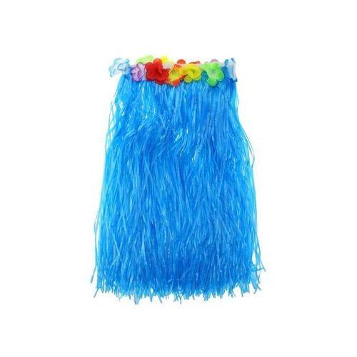 Spódniczka hawajska niebieska z kwiatkami roz. m - 1 szt. marki Go