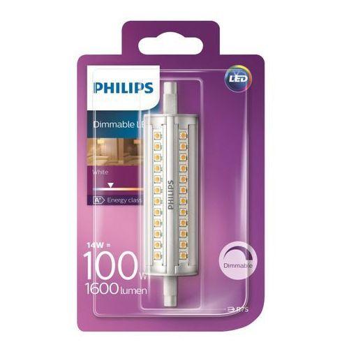 Philips Żarówka led  r7s 14 w 118 1500 lm przezroczysta barwa zimna dim (8718696578735)