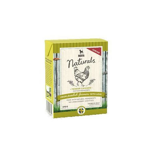 Bozita Naturals Tender Chicken JUNIOR dla psa 370g