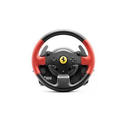 Kierownica Thrustmaster T150 Ferrari dla PS4, PS3 a PC + pedały (4160630) Czarny z kategorii Kierownice do gier