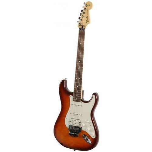 standard stratocaster tbs plus top with locking tremolo gitara elektryczna, podstrunnica palisandrowa marki Fender