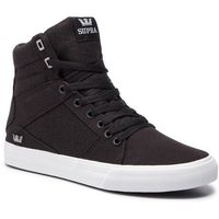 Supra Sneakersy - aluminum 05662-002-m black/white