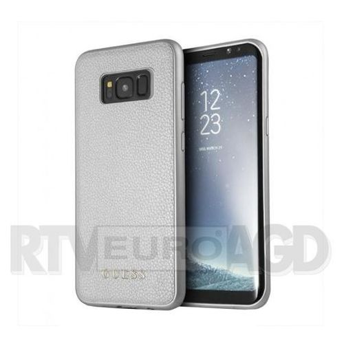 Guess GUHCS8LIGLS Samsung S8 Plus G955 (srebrny), kolor szary