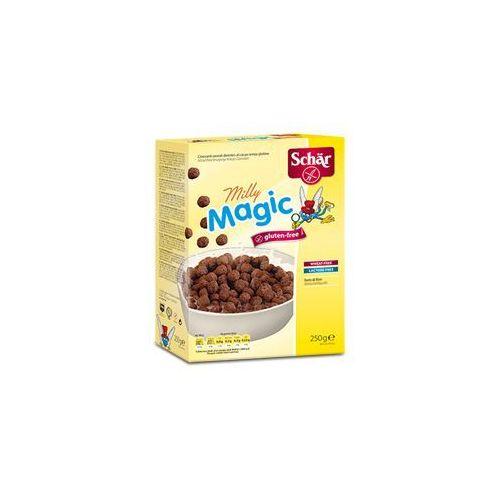 Milly magic 1-2-3 bezglutenowe chrupki kakaowe 250g  wyprodukowany przez Schar
