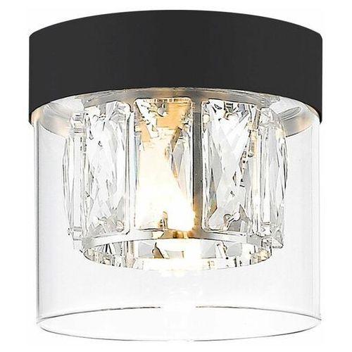 Zuma line gem c0389-01a-f7ac plafon lampa sufitowa 1x28w g9 złoty/transparentny (2011006779713)