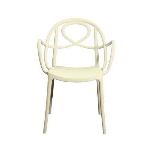 Green Krzesło ogrodowe etoile p białe