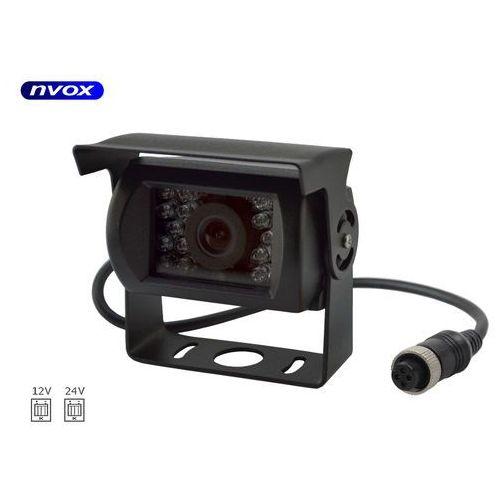 Samochodowa kamera cofania 4pin ccd sharp w metalowej obudowie 12v 24v marki Nvox