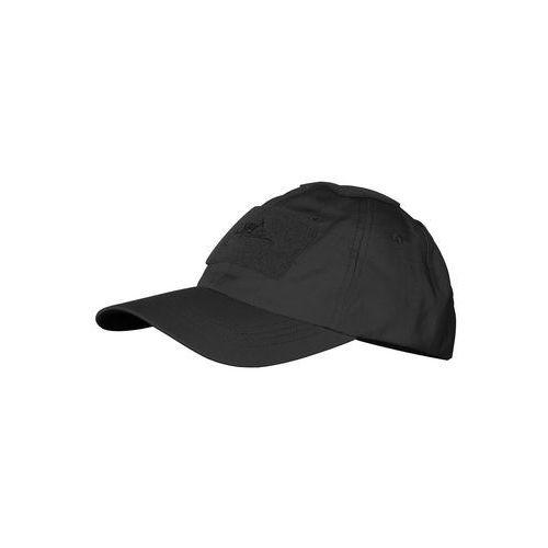 Helikon-tex / polska Czapka helikon baseball cotton ripstop czarna (cz-bbc-pr-01) (5908218711280)