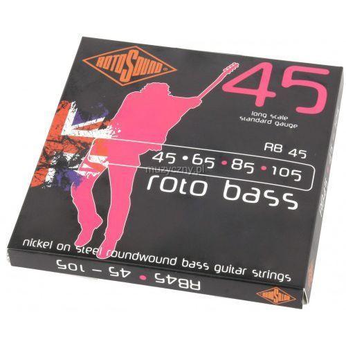 Rotosound RB 45 struny do gitary basowej 45-105