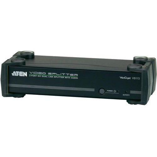 Splitter DVI 2 Porty, ATEN VS172, 2560 x 1600 px, czarny, kup u jednego z partnerów