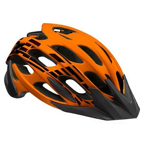 Lazer Kask magma flash orange black