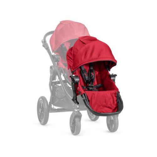 Baby Jogger Siedzisko dodatkowe red Siedzisko z adapterem do montażu na stelażu wózka.
