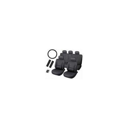Pokrowce samochodowe skóra - czarne. wyprodukowany przez Cars accessories co.