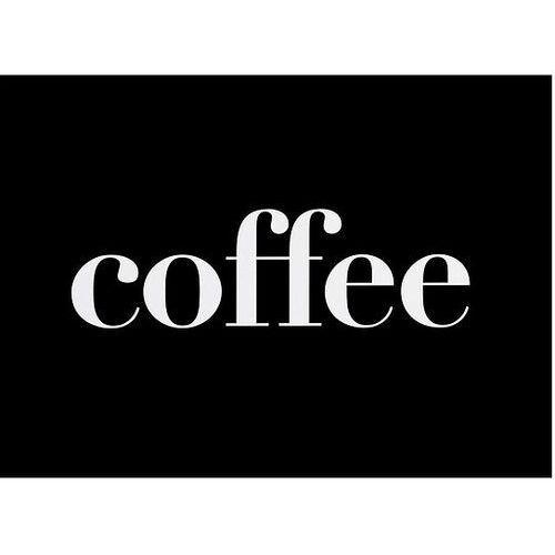 Follygraph Plakat typograficzny coffee 30 x 40 cm