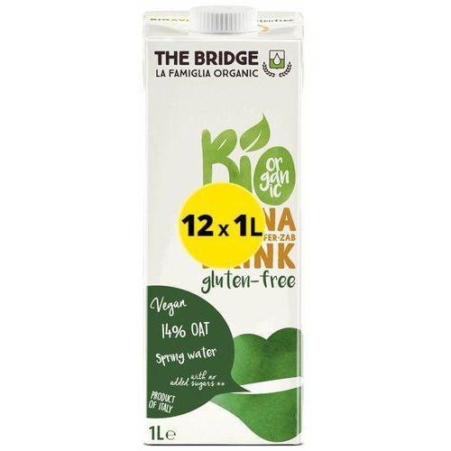 121the bridge Napój mleko owsiane bezglutenowe 12x1lthe bridge eko