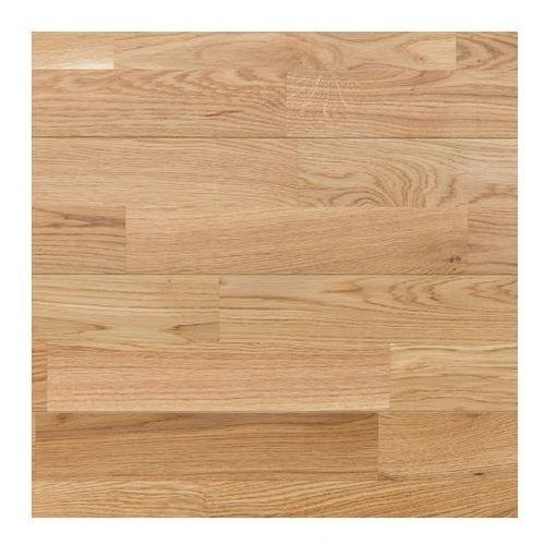 Dąbex Deska podłogowa lita dąb 16 x 140 x 1200 mm lakierowana 1 008 m2 (5907808040243)