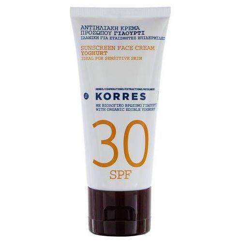 Krem do opalania twarzy z organicznym jogurtem naturalnym SPF30 (5203069031854)