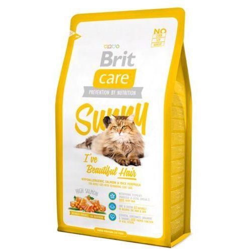 Brit Care Cat New Sunny I've Beautiful Hair Salmon & Rice 2kg, MO-11263