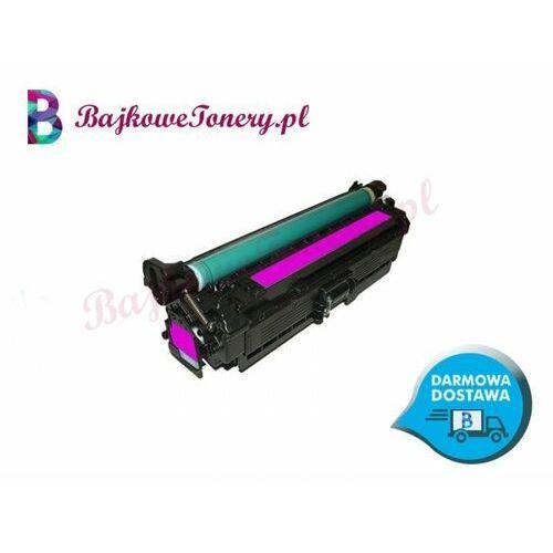 Toner zamiennik hp ce263a czerwony do cp4020, cp4025, cp4520, cp4525, cm4540 marki Bajkowetonery.pl