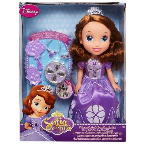 Lalka 93121 księżniczka zosia z biżuterią dla lalki + darmowy transport! marki Jakks pacific