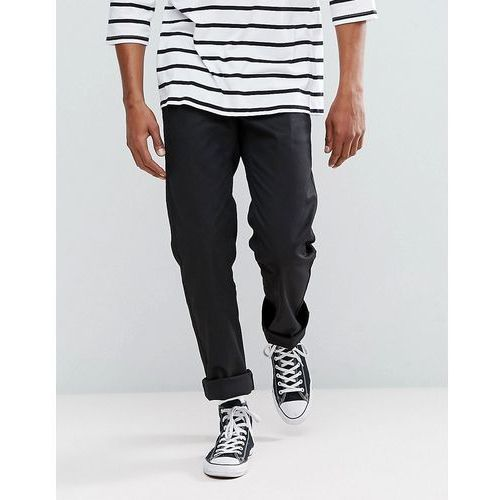 Brixton Fleet Rigid Chino in Relaxed Fit - Black