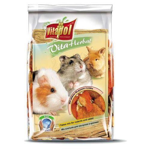 Vitapol Mix płatków dla gryzonia i królika 150g, 6909