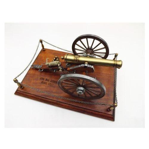 Denix Miniatura armaty z okresu wojny domowej usa 1857r  model 9445